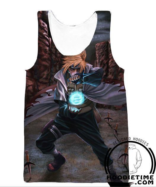 Naruto Minato Uzumaki 4th Hokage Hoodie - 3D Pullover Clothing - Naruto Hoodies