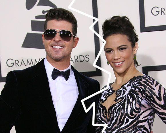 Child Services Involved In Robin Thicke & Paula Patton's Custody Battle After He Reportedly Spanked Their Son 'Really Hard'