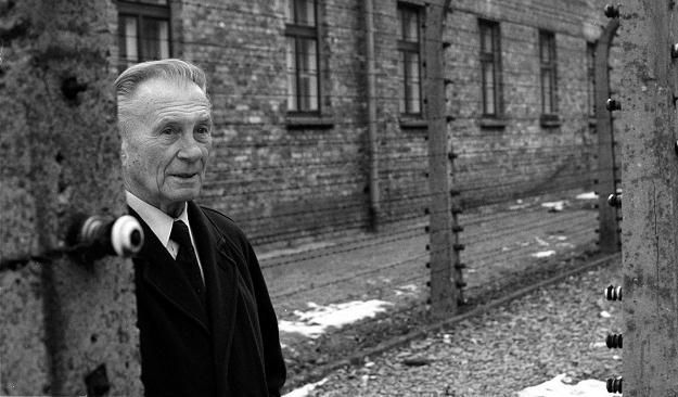 Kazmierz Smolen, former Auschwitz prisoner and director of the Auschwitz Museum and Memorial from 1955-1990. He died on the 67 anniversary of Auschwitz on 01/27/2012.