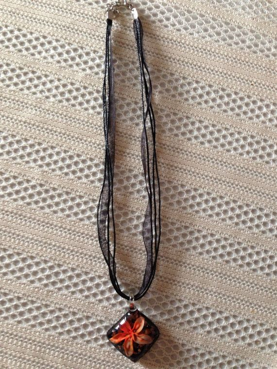 Easy and Fun DIY Necklaces Glass Flower Necklace on Etsy, $8.00 CAD