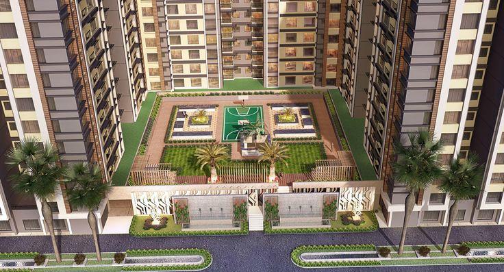 #Southwinds #elevation #Apartments #ResidentialApartments #Kolkata #RealEstate