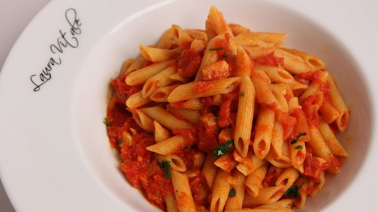 Pasta Arrabiata Recipe - Laura Vitale - Laura in the Kitchen Episode 340...