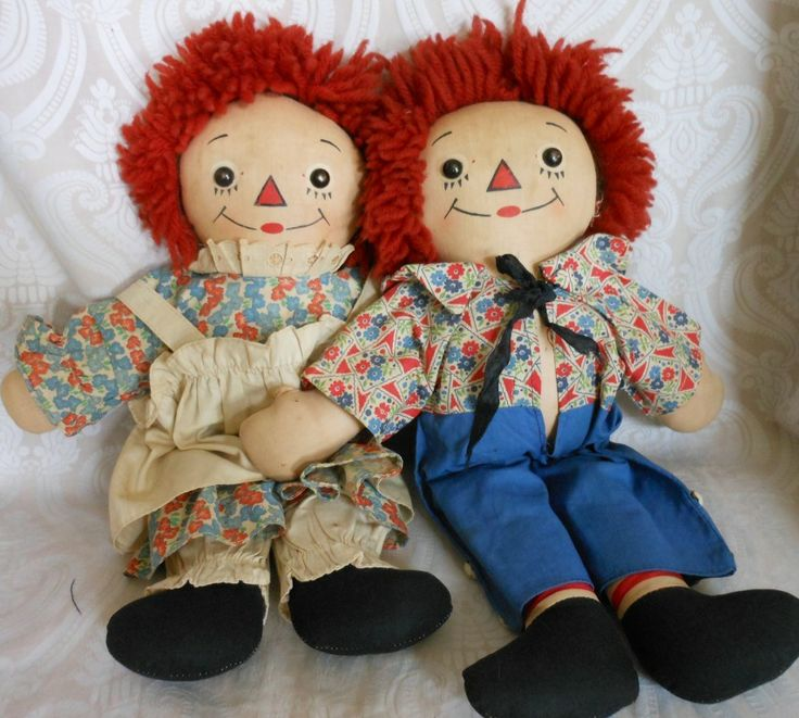 321 best Raggedy Ann Andy images on Pinterest Raggedy ann