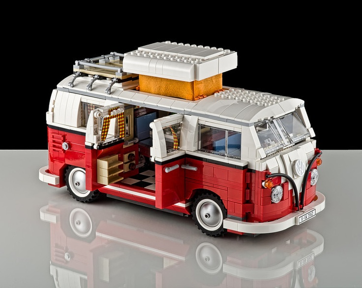 1962 vw bus was working in my studio and shot this lego. Black Bedroom Furniture Sets. Home Design Ideas
