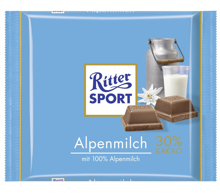 Ritter Sport Chocolate:  There is no such thing as too much of it.