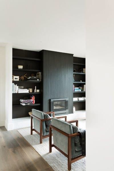 Library / Study at Mountain View home by Lazcon