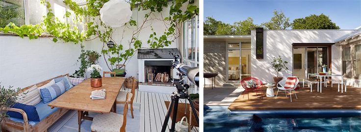 Иди летнего дизайна: терраса, балкон, веранда | HomeNiNo.ru — портал о дизайне…