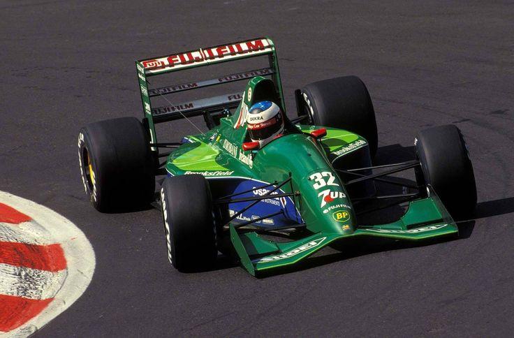 1991 Michael Schumacher, 7Up Jordan Ford 191