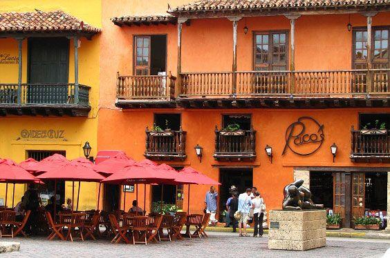 Sitios Turisticos de Cartagena de Indias Plaza Santo Domingo
