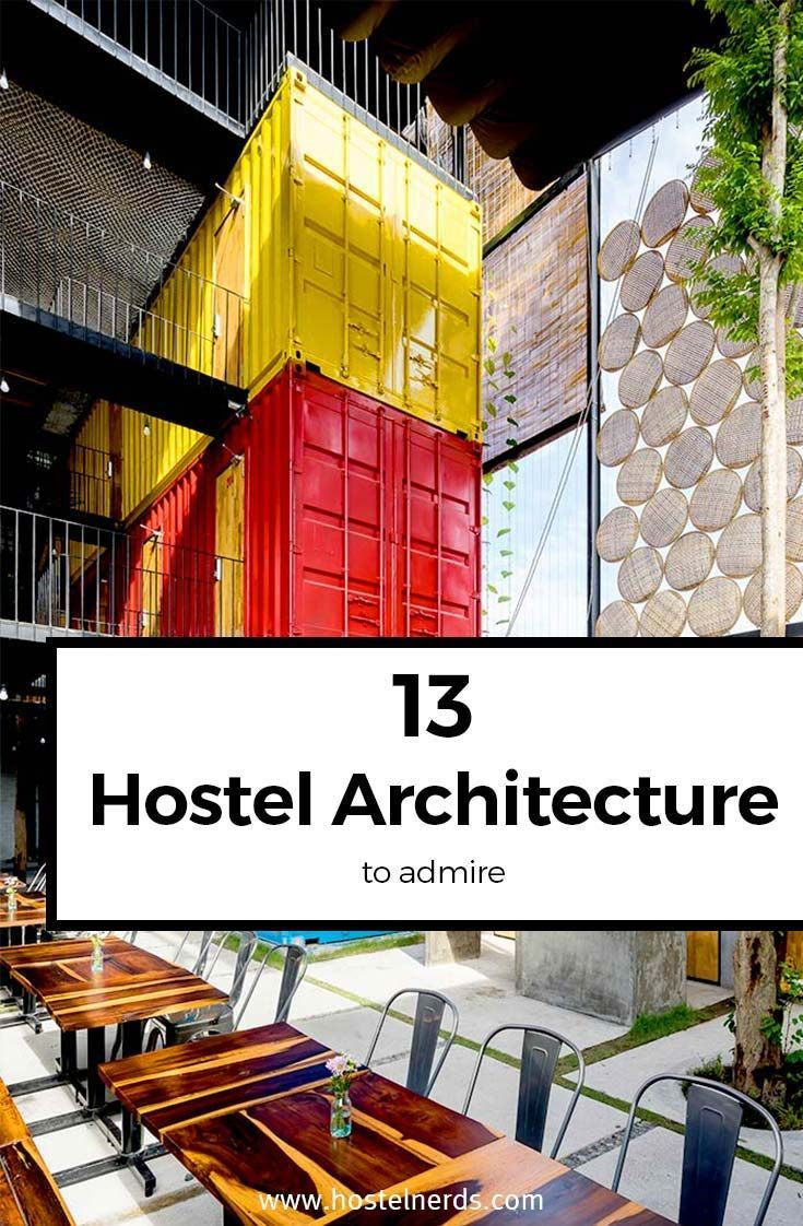 Pin By Ryan Thane Brennan On Nomad Hostels Design Hostel Architecture