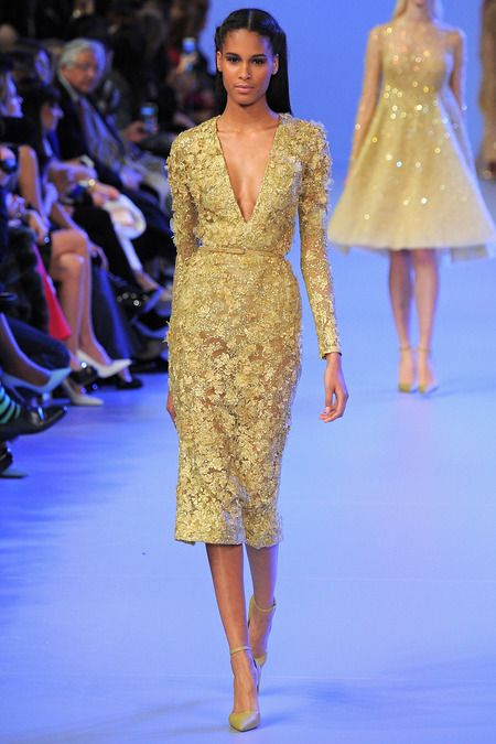 Elie Saab | Spring 2014 Couture Collection | Style.com                                                                                                                                                                                 Más