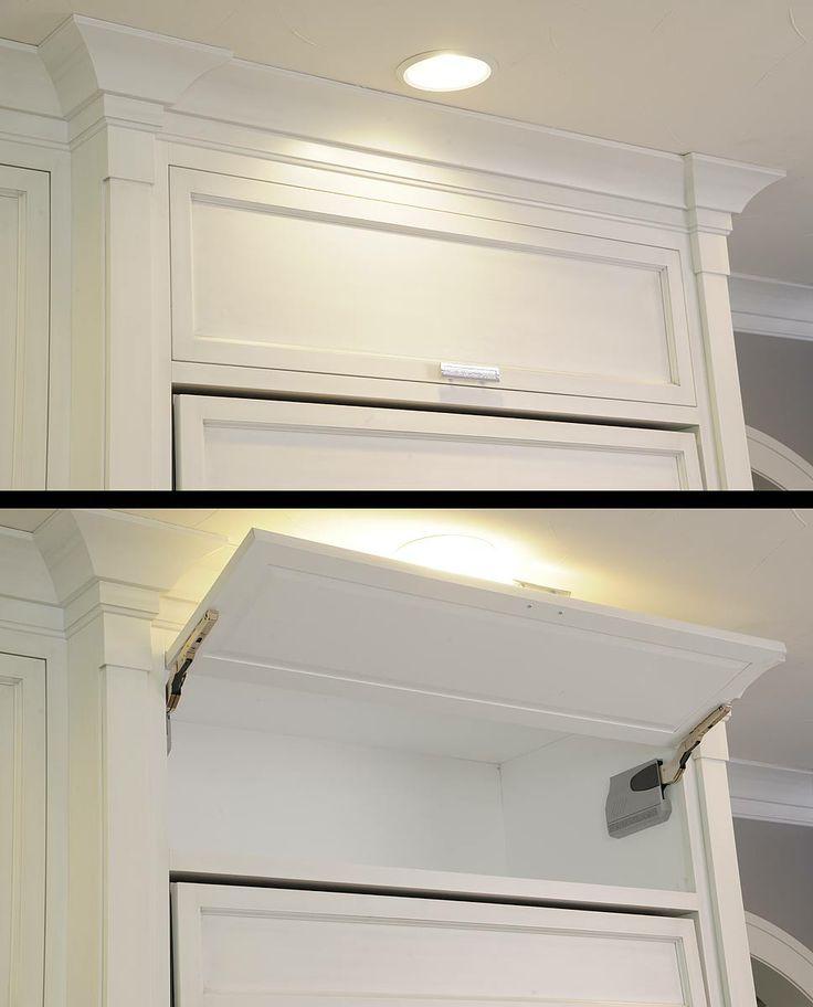 Flip Up Cabinet Door