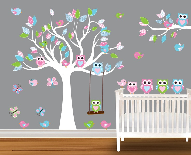 Nursery Wall Decal Stickers Children Wall Decal by NurseryDecals, $119.99