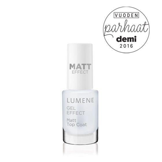 The best nail polish of the year: Lumene Gel Effect Matt Top Coat / 2016 Best of Beauty by Demi Magazine