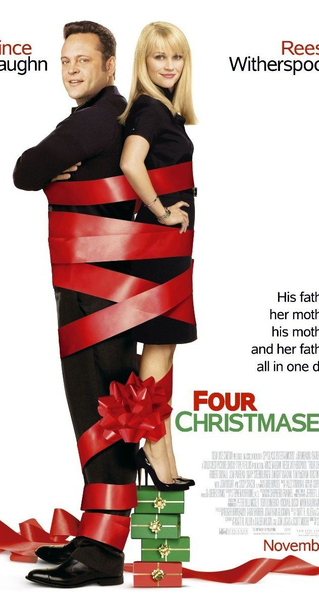 Directed by Seth Gordon.  With Reese Witherspoon, Vince Vaughn, Mary Steenburgen, Robert Duvall. A couple struggles to visit all four of their divorced parents on Christmas Day.
