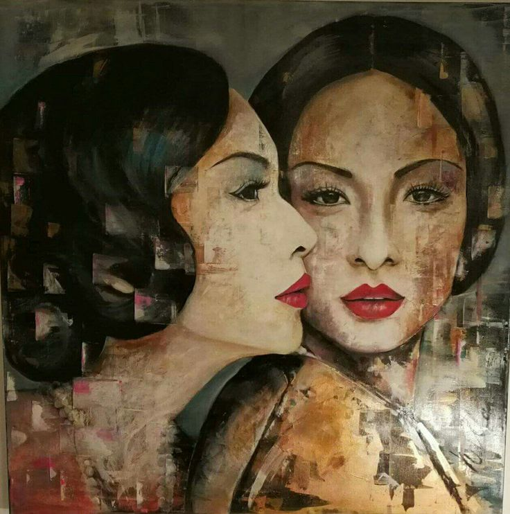 Hullanbea #Oilpainting#contemporariart#art#JadeésChloé#portrait