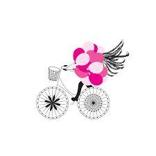 Pink Balloons stationery indelibleinkdesigns.com