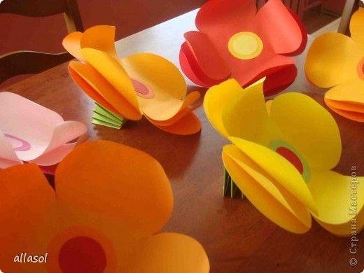 Artizanat Bumagoplastika produs Amintindu-și de vară carton Hîrtie Fotografii 1