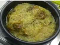 Sauerkraut aus dem Ofen