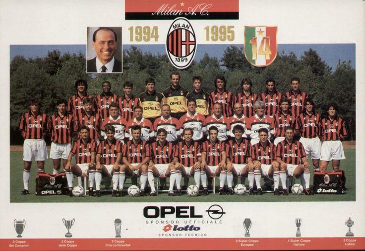 1994-1995 Squad