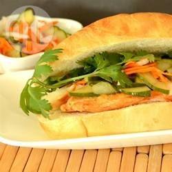 Banh Mi (sanduíche vietnamita) @ allrecipes.com.br