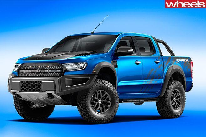 Ford -Ranger -Raptor -rear -utility