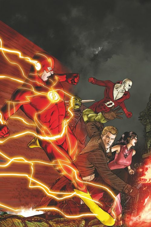 """extraordinarycomics: """"The Flash & The Justice League Dark by MIKEL JANIN1 """""""