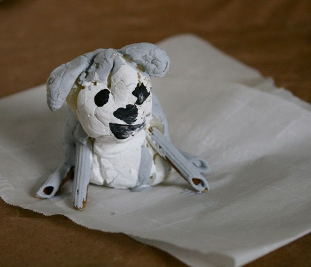 Clay Creation - Rudy's New Human - offtheshelfblog.com