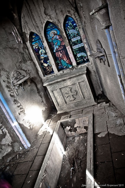Abandoned Church, Ghost Town, Russia