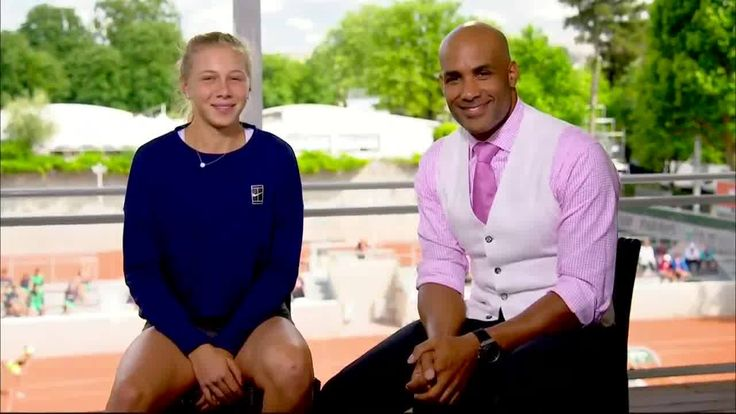 Code Black on CBS star & Tennis Channel juniors correspondent Boris Kodjoe spoke w/ United States Tennis Association - USTA (Official)'s Ana Anisimova about her bright future in the pro game as a member of the WTA.