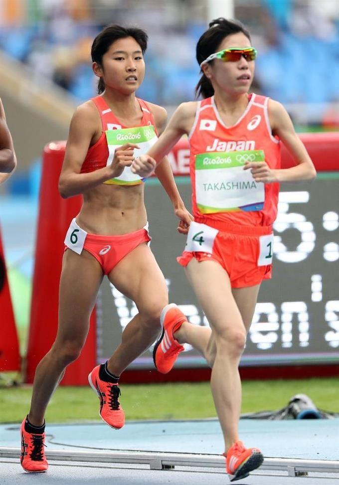【五輪陸上】女子1万m、高島18位、関根20位 #陸上 #リオ五輪
