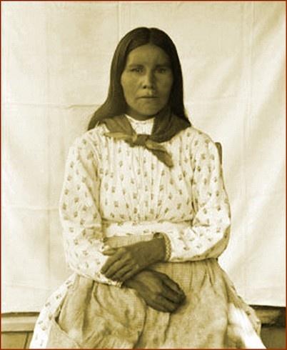 Cherokee Woman 1888.