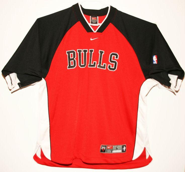Nike NBA Chicago Bulls Authentic Warm Up/Shooting Shirt Trikot/Jersey Size 44 - Größe L - 129,90€ #nba #basketball #trikot #jersey #ebay #sport #fitness #fanartikel #merchandise #usa #america #fashion #mode #collectable #memorabilia #allbigeverything