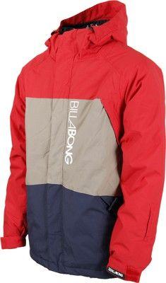 Billabong Bolt Jacket - fire red - Snowboard Shop > Men's Snowboard Outerwear > Snowboard Jackets > Shell Snowboard Jackets