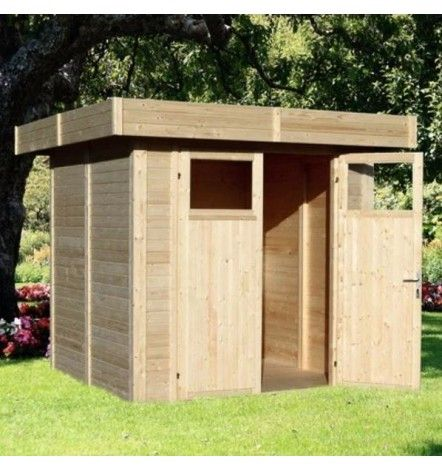 Abri de jardin LIPPO 210 x 202cm