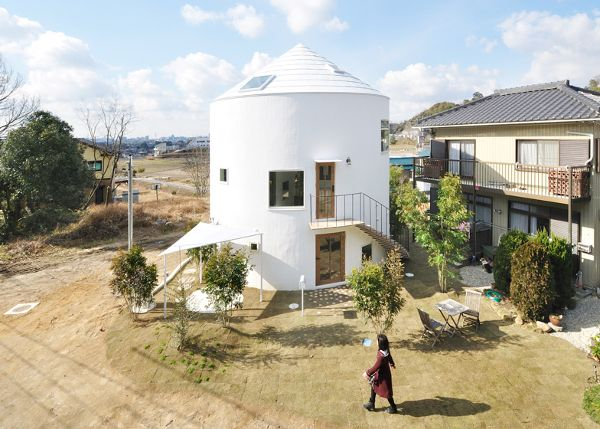 house tower in Japan