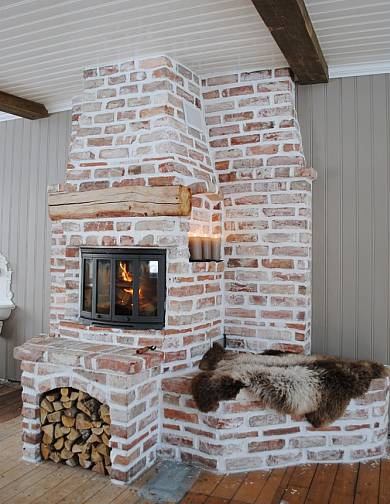 *THE ESSENCE OF THE GOOD LIFE™*: MURSTEINSPEIS - FIREPLACE IN BRICKS