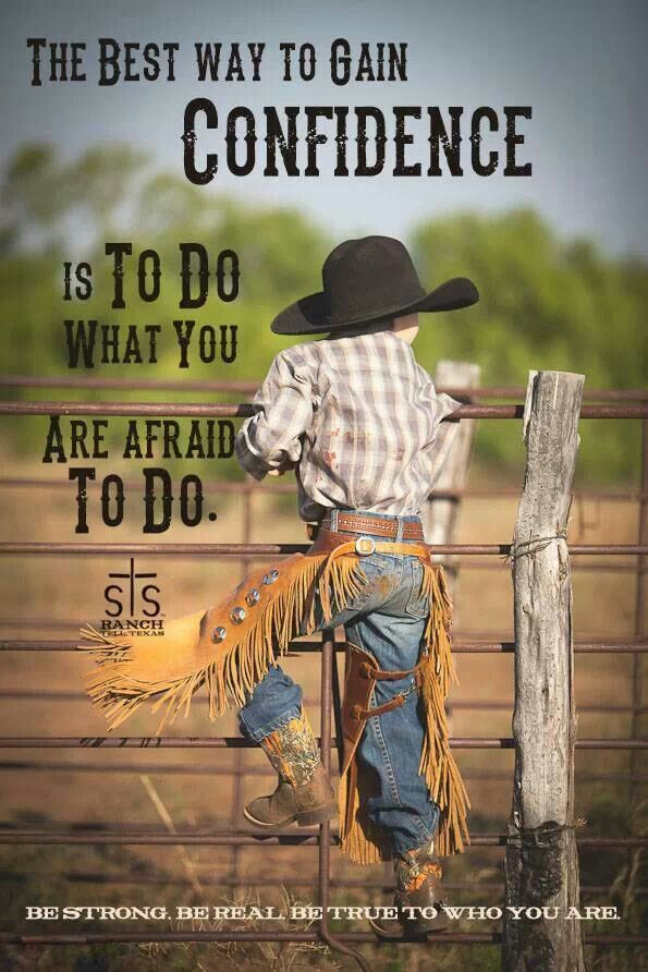 The best way to gain confidence is to do what you are afraid to do.