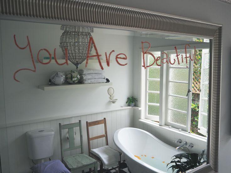 Charity collaboration - future dreamers bathroom mirror