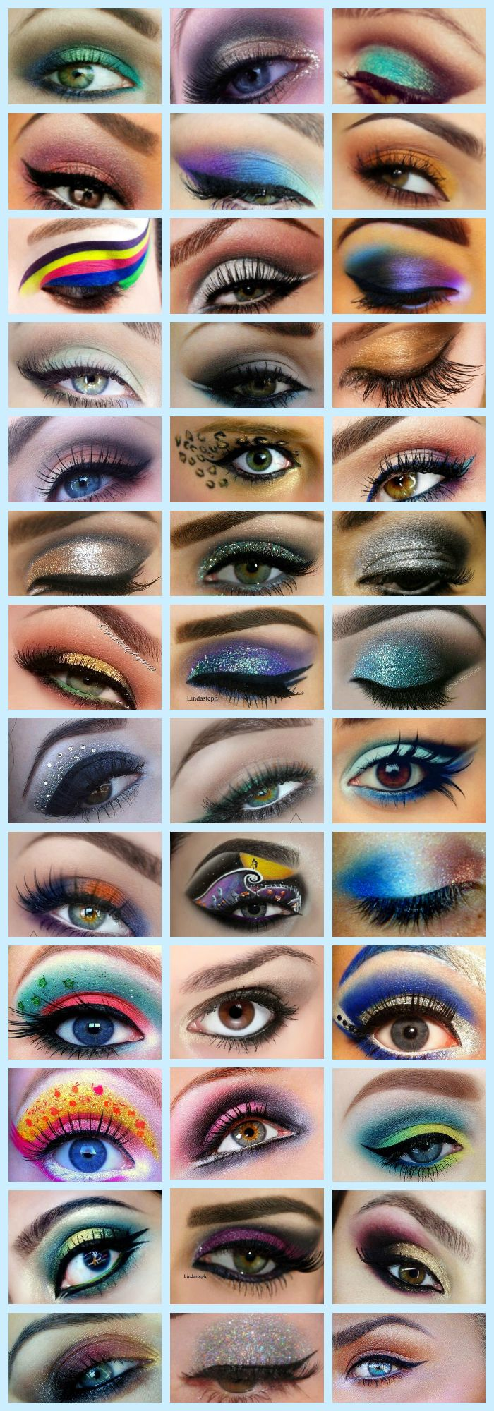 Experimenting with eye makeup has become a new trend among the youth. When it comes to eye makeup, all of us love sporting different forms of eye makeup. Here is a long list of our 102 top eye makeup tutorials compilation with a little description to help you carry them out with ease. Check these out and keep experimenting with eye makeup looks. #Eyemakeup