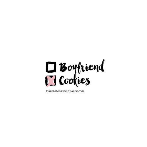 Boyfriend or Cookies - #JaimeLaGrenadine