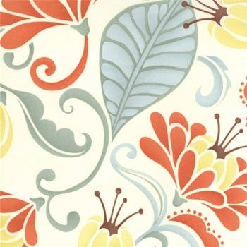 Kate Spain for Moda fabric, Fandango in Sarabande Sand, $8.99 yard