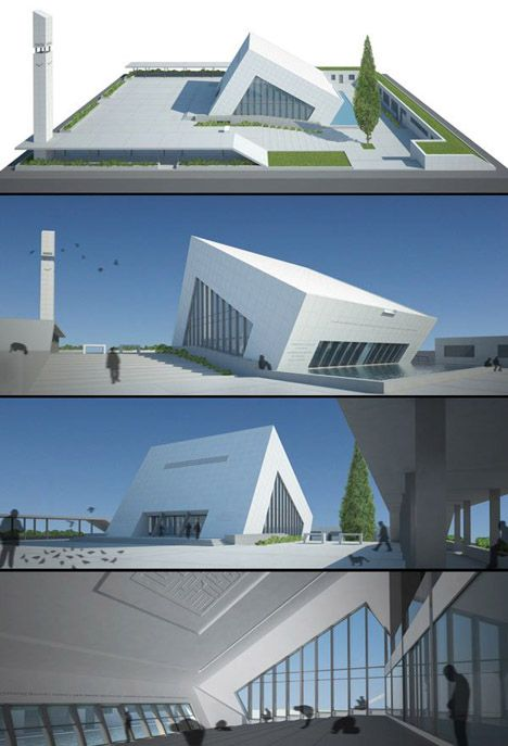 Contemporary Modern Mosque | architecture.xl.meiji