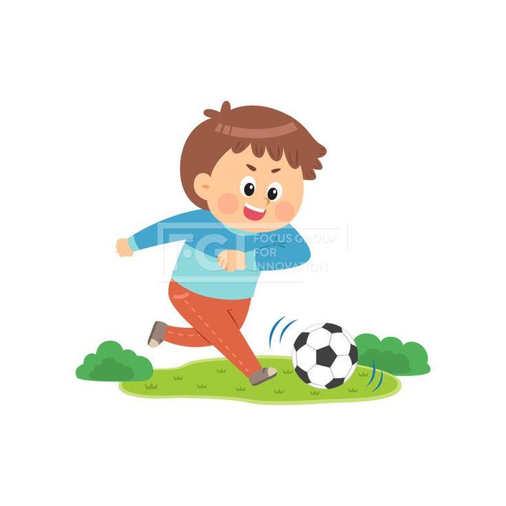 SILL205, 어린이생활, 어린이, 청소년, 학생, 생활, 라이프, 벡터, 에프지아이, 사람, 캐릭터, 1인, 교육, 학습, 공부, 체육, 남자, 축구, 축구공, 뛰는, 소년, 운동, 일러스트, illust, illustration #유토이미지 #프리진 #utoimage #freegine 19876461