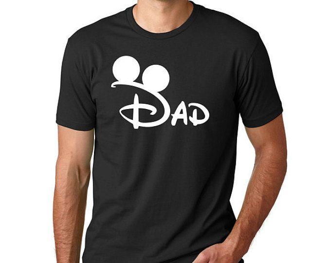 """""""Disney Mickey papá"""" camisa de Disney / / familia Disney vacaciones Camisetas / / camiseta de Disney de los hombres / / Plus tamaño Disney camisetas / / vacaciones"""
