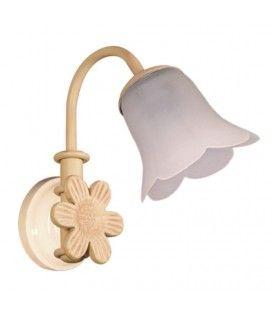 Illuminazione bagno specchio, modello fiori. AP508