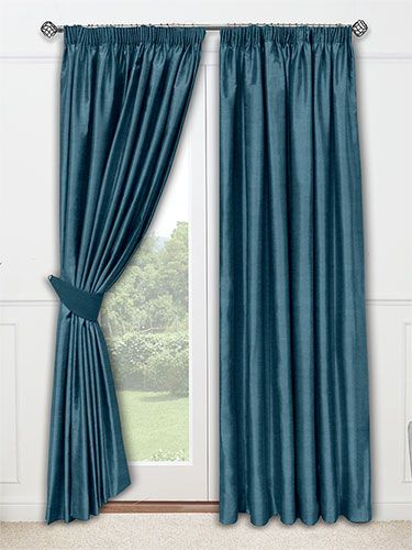 Veluti Peacock Curtains from Curtains 2go