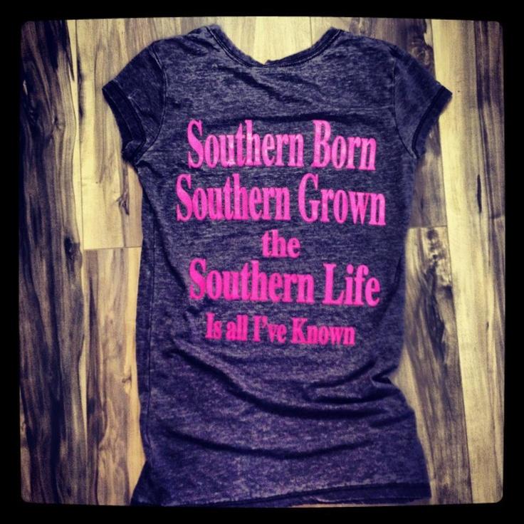 """Southern Charm """"Southern Born"""""""
