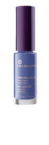 Our Nail Lacquer in Mauve Blue. Notre Vernis brillance Bleu mauve.