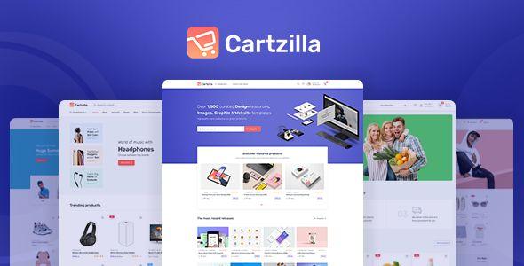 Free Download Cartzilla Digital Marketplace Grocery Store Wordpress Theme In 2020 Wordpress Theme Ecommerce Themes Wordpress